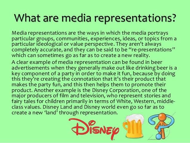 Representation in Media Slide 2