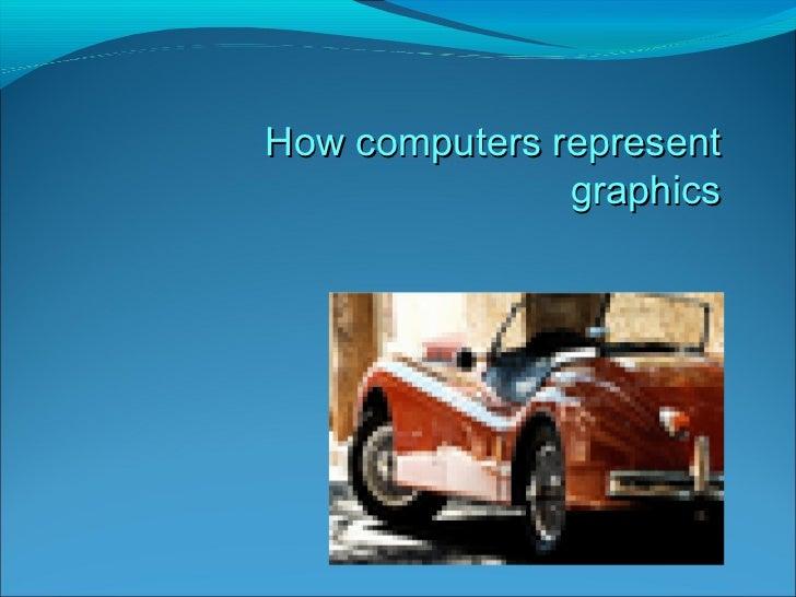 How computers represent graphics
