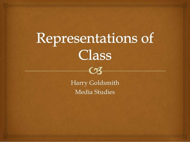 Harry Goldsmith Media Studies