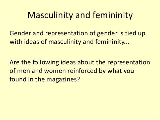 the representation of gender roles essay It is still true that women in media roles are still judged by their gender rather than by their experience,  essay uk, gender masculinity femininity essay.