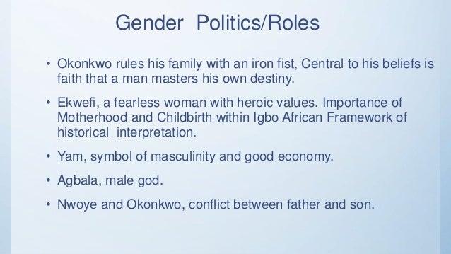 Representation Of Gender In Things Fall Apart