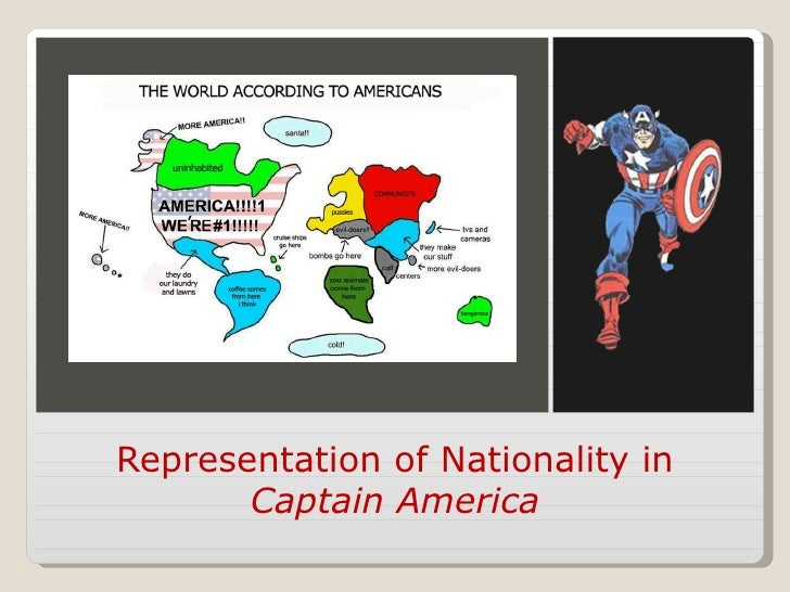 Representation of Nationality in       Captain America
