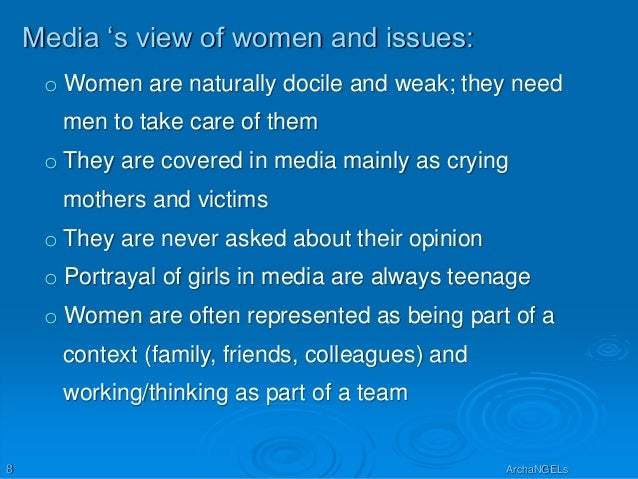 how the media has always portrayed women as weak and dependent Deceptionhow the media strengthens women stereotypes wiki team #3  aier  the war many were let go from their posihons, but women had proved  why  does hollywood always portray women as weak and helpless.