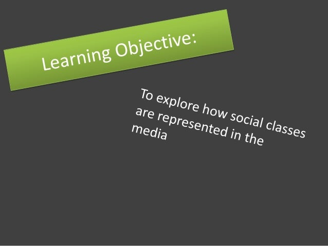 Social Classes? • How many social classes are there? • How would you describe them?