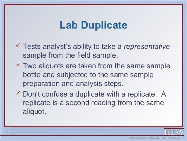 Representative sampling