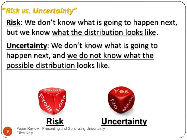 theories of risk and uncertainty The knight's theory of profit was proposed by frank h knight, who believed  profit as a reward for uncertainty-bearing, not to risk bearing.