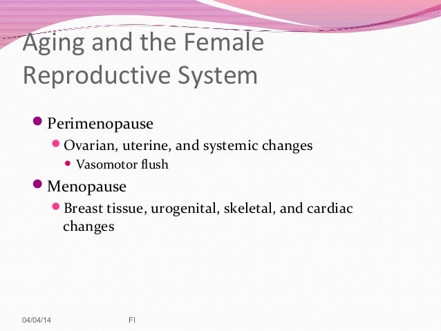 reproductive system 2014, Muscles
