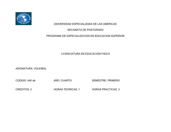 UNIVERSIDAD ESPECIALIZADA DE LAS AMERICAS                                  DECANATO DE POSTGRADO                     PROGR...