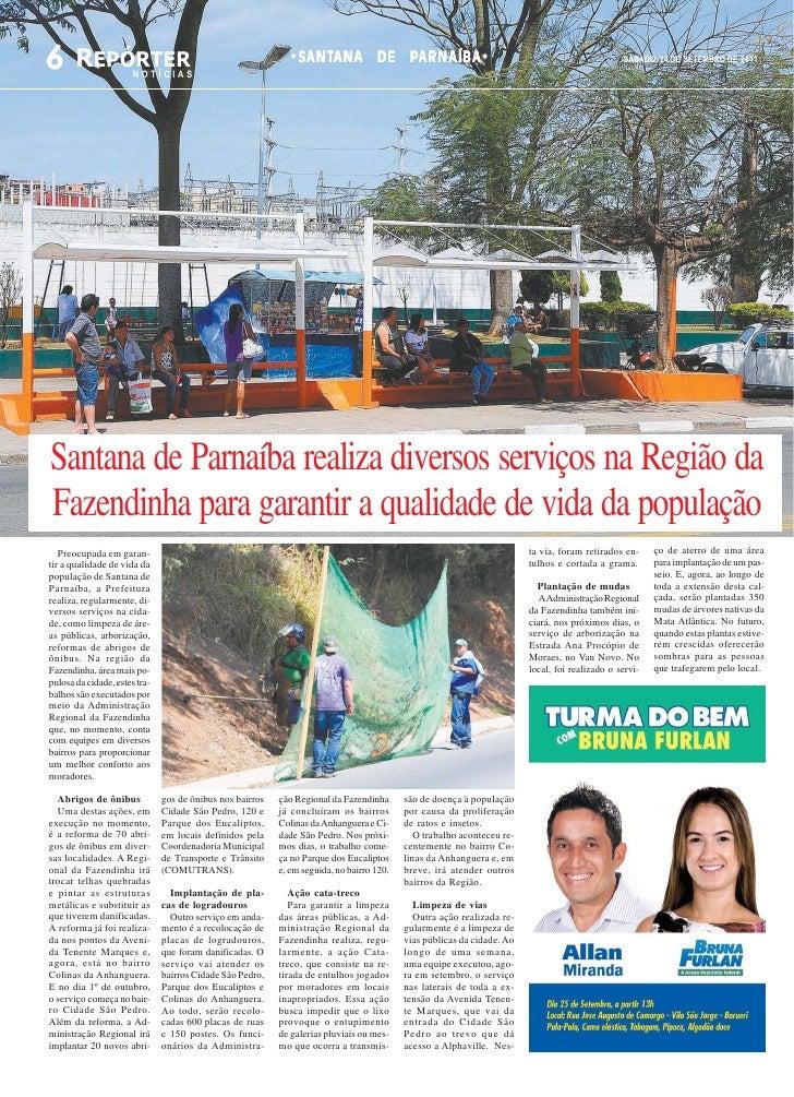 6 REPÓRTER             NOTÍCIAS                                                                SANTANA DE PARNAÍBA        ...