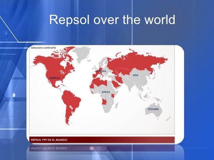 Repsol over the world