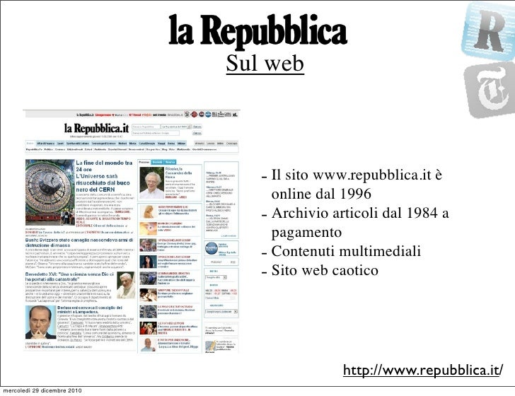 repubblica e new york times a confronto