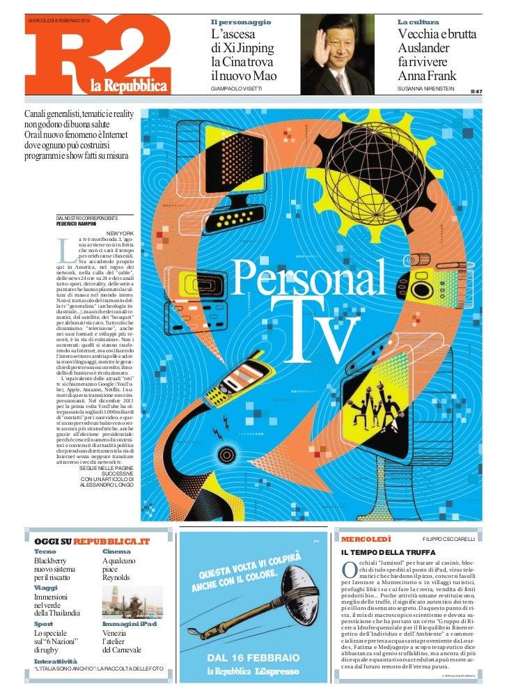 MERCOLEDÌ 8 FEBBRAIO 2012                            Il personaggio                               La cultura              ...