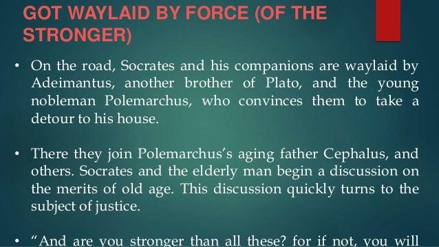 Plato Republic 1& 2