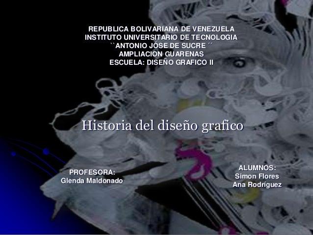 REPUBLICA BOLIVARIANA DE VENEZUELA INSTITUTO UNIVERSITARIO DE TECNOLOGIA ``ANTONIO JÓSE DE SUCRE ´´ AMPLIACION GUARENAS ES...