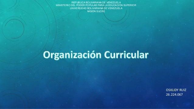 REPUBLICA BOLIVARIANA DE VENEZUELA  MINISTERIO DEL PODER POPULAR PARA LA EDUCACIÓN SUPERIOR  UNIVERSIDAD BOLIVARIANA DE VE...