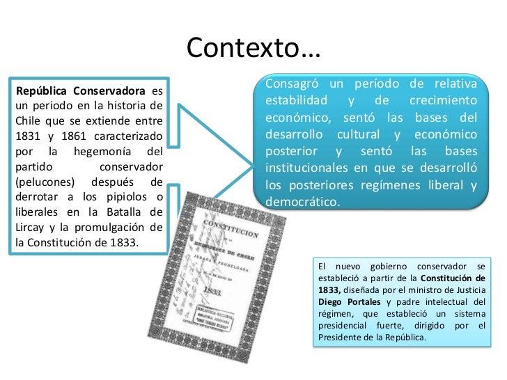 Republica conservadora 1831 1861 - Republica de las ideas ...