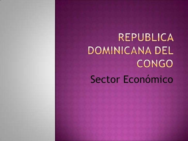 Sector Económico