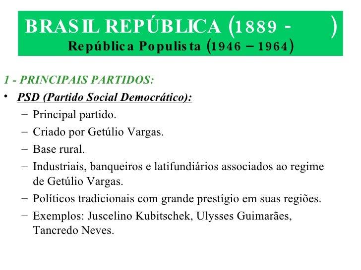 Republica populista.filé