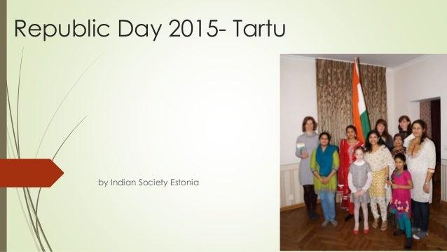 Republic Day 2015- Tartu by Indian Society Estonia