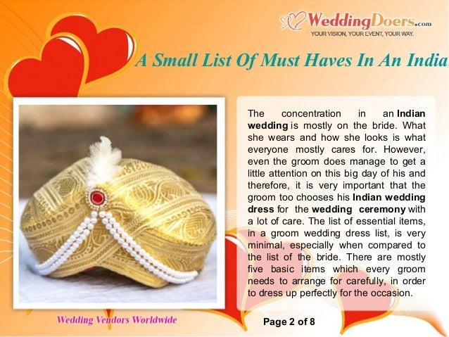 Wedding catering menu india