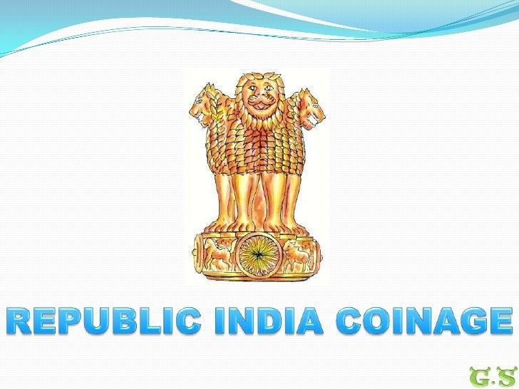 Republic India Coinage<br />