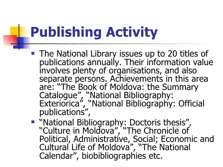 National library of canada dissertations