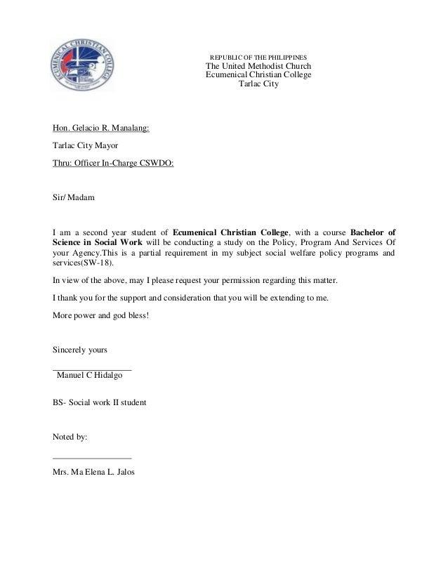 REPUBLIC OF THE PHILIPPINES  The United Methodist Church Ecumenical Christian College Tarlac City  Hon. Gelacio R. Manalan...
