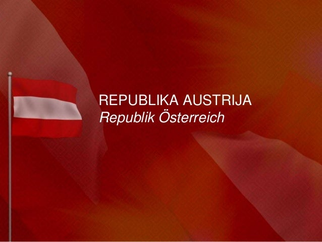 REPUBLIKA AUSTRIJARepublik Österreich