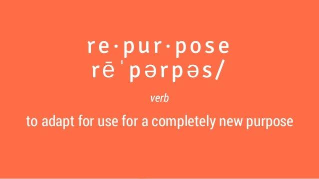 WordCamp: Repurposing Content Workshop Slide 2