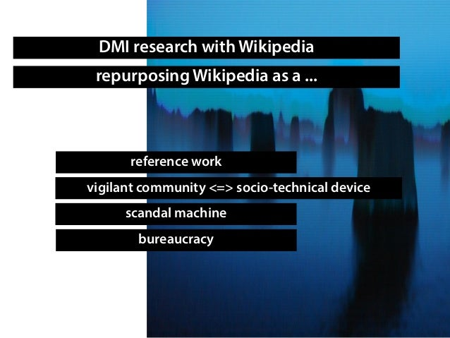 Repurposing Wikipedia: Wikipedia as data set and analytical