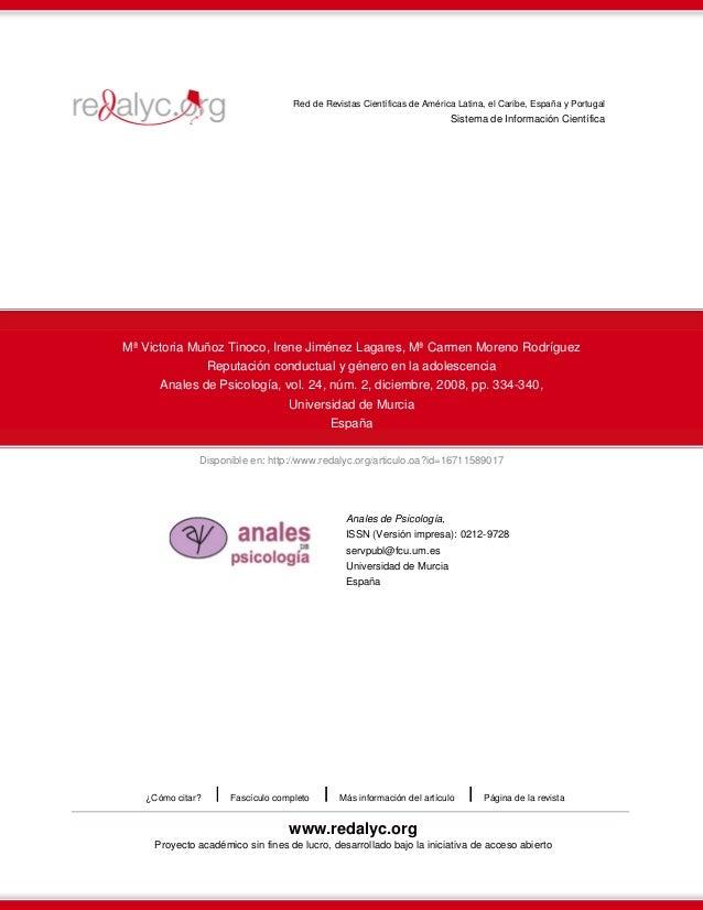 Disponible en: http://www.redalyc.org/articulo.oa?id=16711589017 Red de Revistas Científicas de América Latina, el Caribe,...