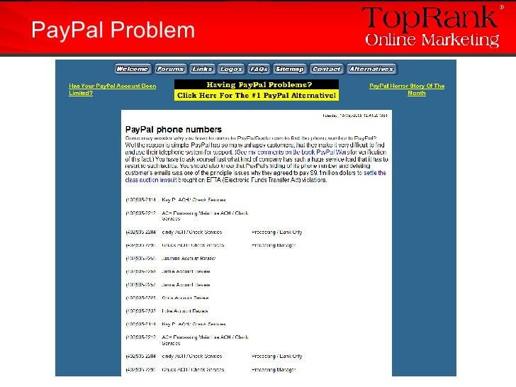 PayPal Problem