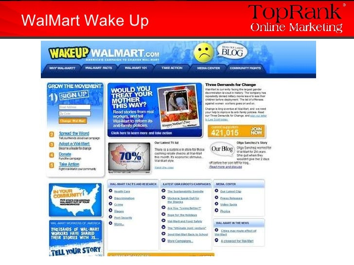WalMart Wake Up