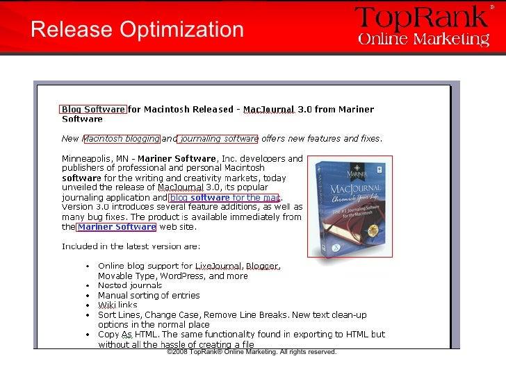 Release Optimization