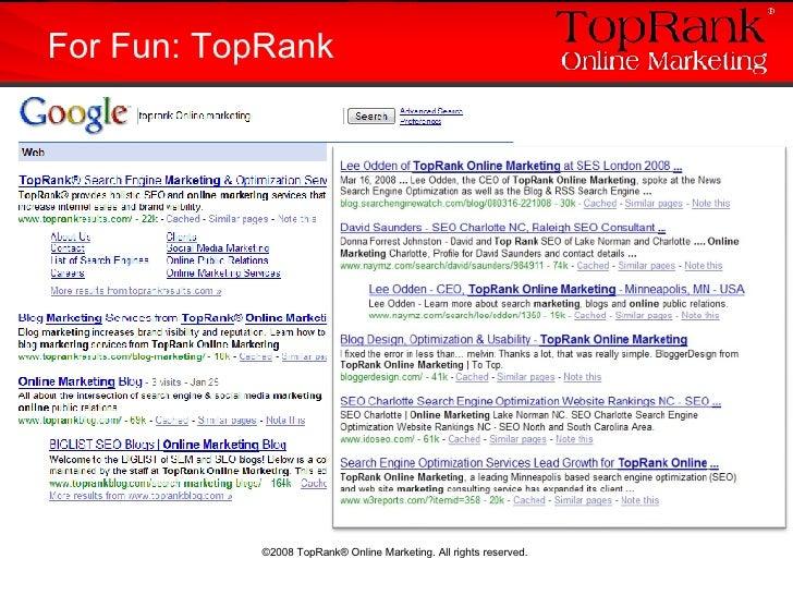 For Fun: TopRank