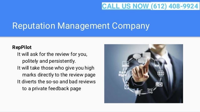 Reputation Management Company RepPilot It will ask for the review for you, politely and persistently. It will take those w...