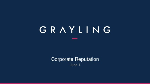 Corporate Reputation June 1