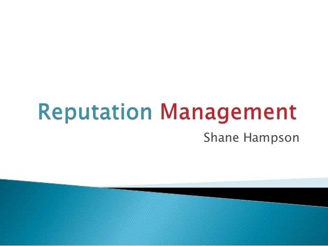 Shane Hampson