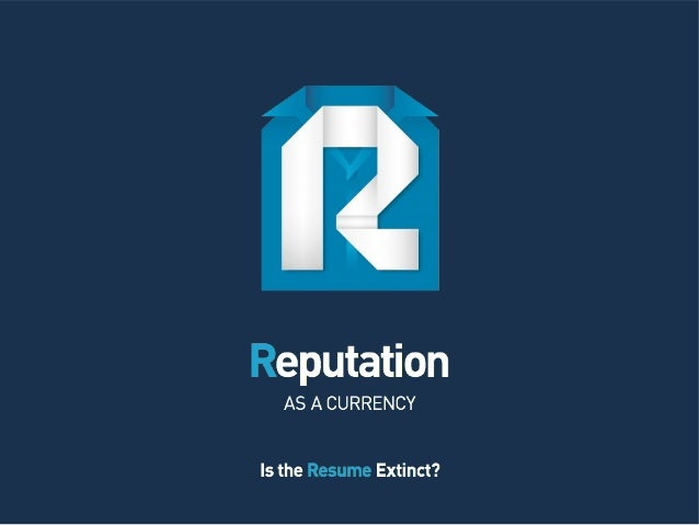 Reputation as a Currency