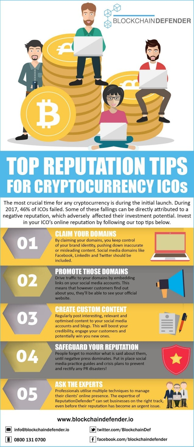 Reputation Tips for Cryptocurrency ICO's