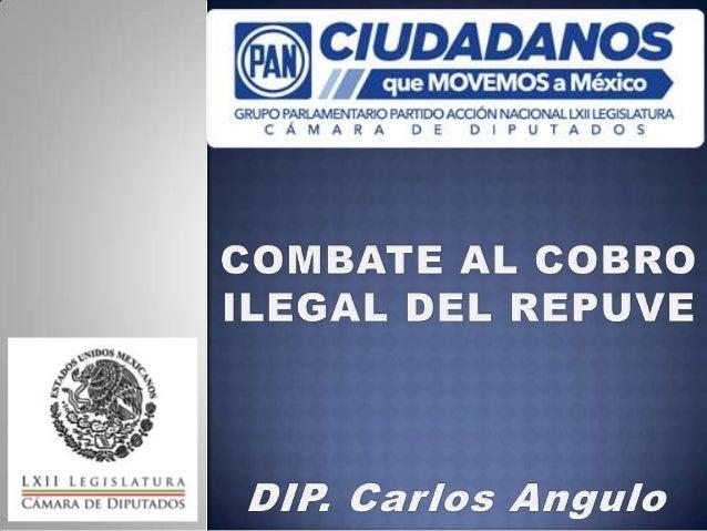 El 1 de septiembre de 2004 sepúblico la Ley del RegistroPúblico Vehicular, cuyoobjeto es establecer y regularla operación,...