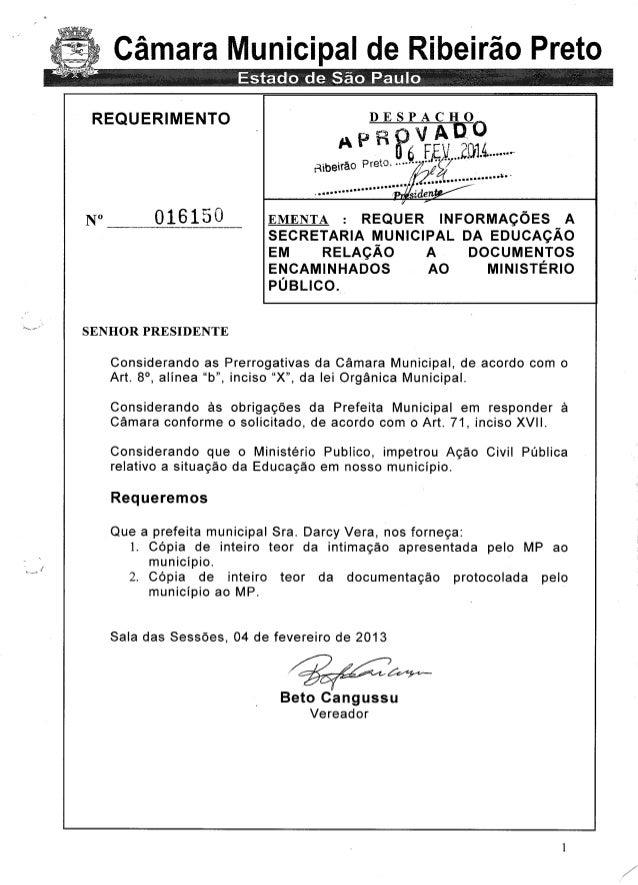 RESPOSTA DA SECRETARIA DA EDUCAÇÃO SOBRE DOCUMENTOS ENTREGUES NO MP
