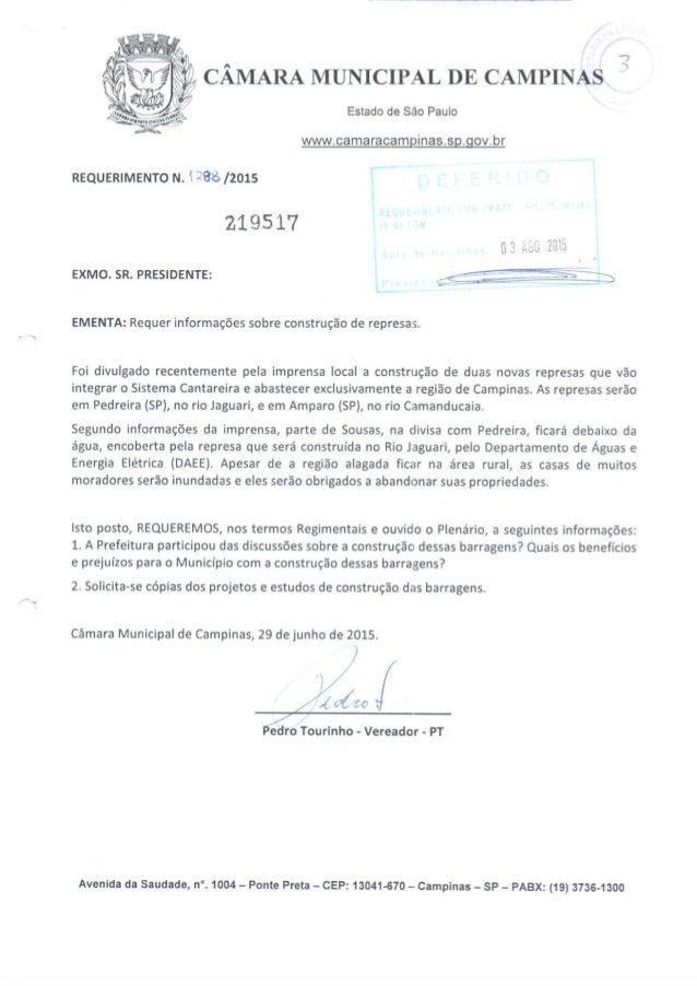 7  : :L1 CÂMARA MUNICIPAL DE CAMPINAS °           -' 3 - 4'  - v:  u _.   %! Igu-j_-, ( ,  anita¡  Estado de São Paulo  ww...