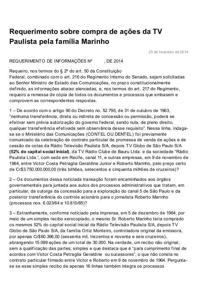 robert orequiao.com.br http://www.robertorequiao.com.br/requerimento-sobre-compra-de-acoes-da-tv-paulista-pela-familia-mar...