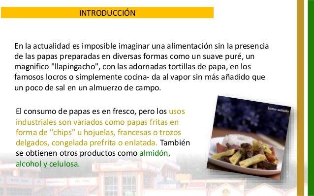 Requerimientos cualitativos para la industrializaci n de for Introduccion a la cocina francesa