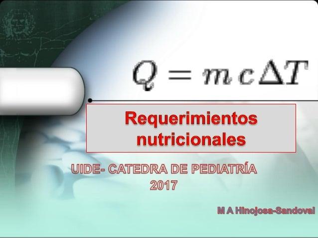 • El consumo nutricional en niñas, niños y adolescentes mantiene el peso (estado nutricional) al tiempo que apoya el creci...