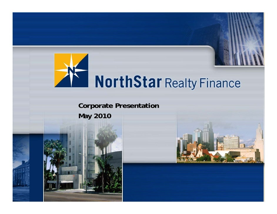 Corporate Presentation May 2010                              1