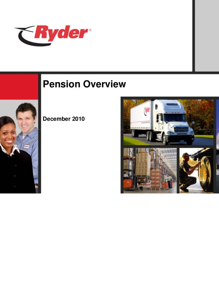 Pension OverviewDecember 2010
