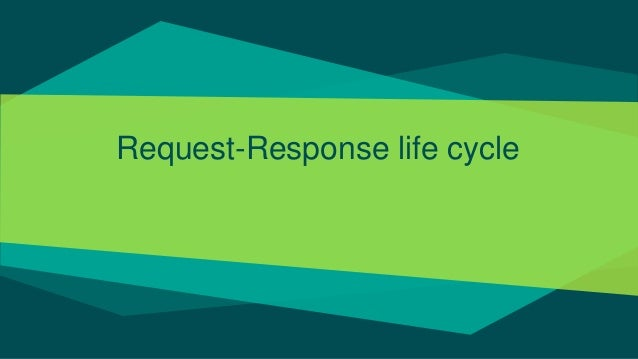 Request-Response life cycle