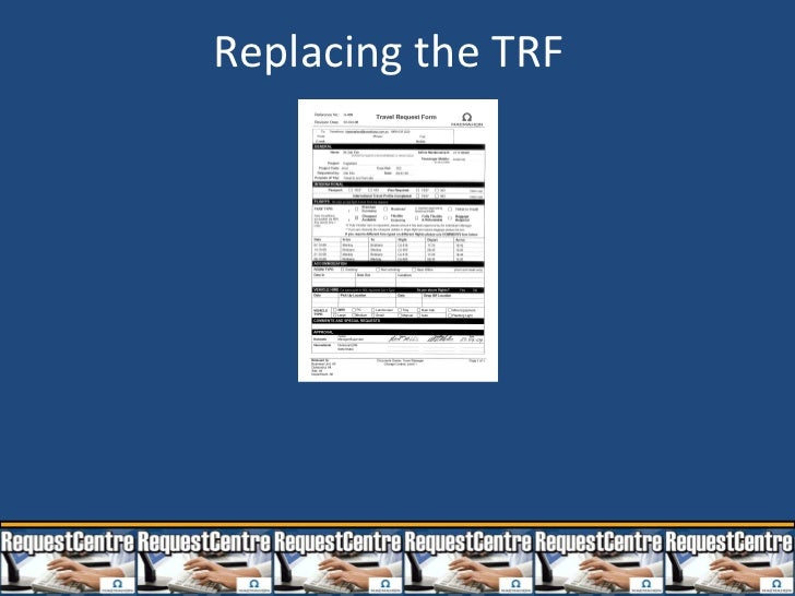 Replacing the TRF